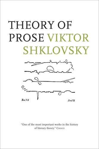 Theory of Prose   1991 edition cover