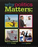 Why Politics Matters + Coursereader 0-60 - Introduction to Political Science Printed Access Card: An Introduction to Political Science  2014 edition cover