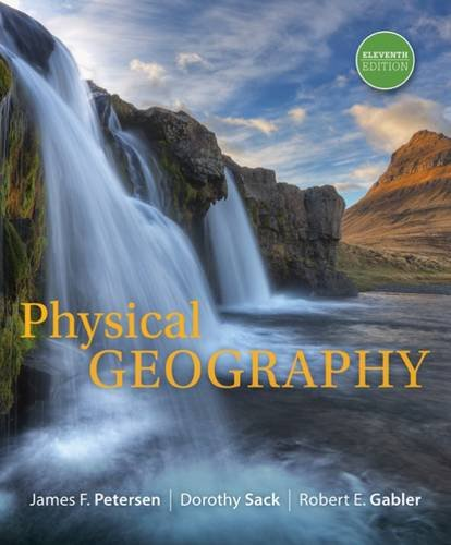 Physical Geography:   2016 9781305652644 Front Cover