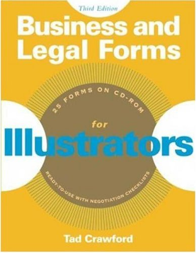 Business and Legal Forms for Illustrators  3rd 2004 edition cover