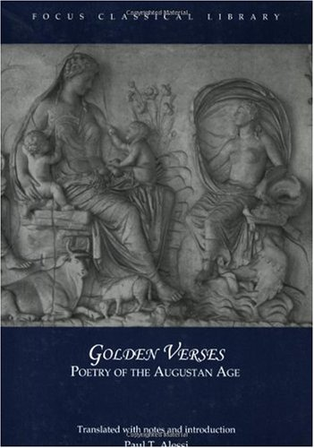 Golden Verses Poetry of the Augustan Age  2003 edition cover