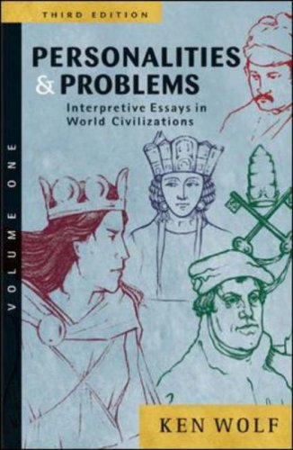 Personalities and Problems Interpretive Essays in World Civilization 3rd 2005 (Revised) edition cover
