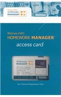 Financial and Managerial Accounting Homework Manager Pass Card:  2008 edition cover