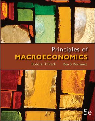 Principles of Macroeconomics with Connect Plus  5th 2013 edition cover