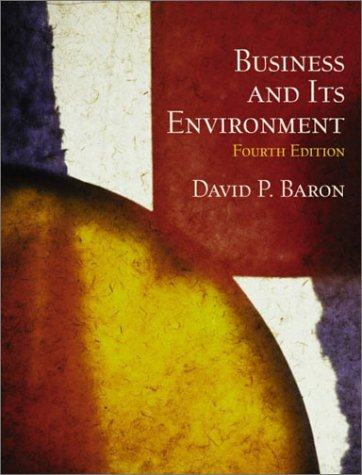 Business and Its Environment  4th 2003 9780130470645 Front Cover