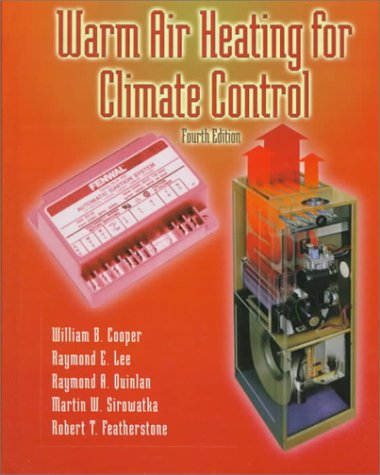 Warm Air Heating for Climate Control  4th 2000 edition cover