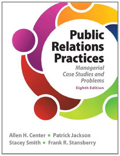 Public Relations Practices  8th 2014 edition cover