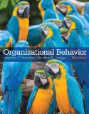Organizational Behavior  16th 2015 9780133507645 Front Cover