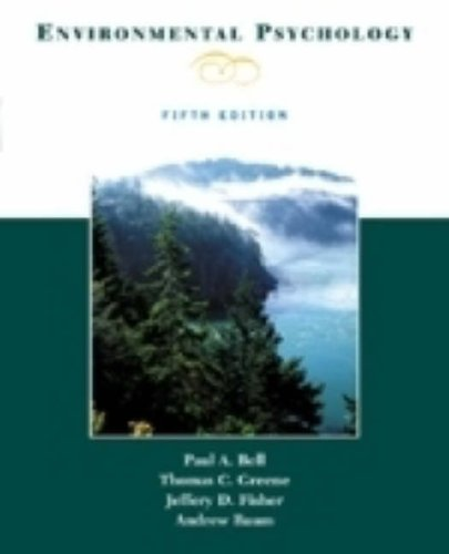 Environmental Psychology 5th 2001 edition cover