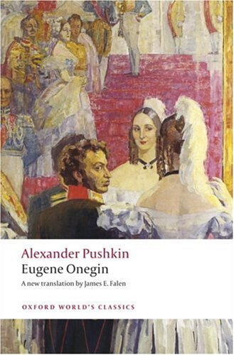 Eugene Onegin A Novel in Verse  2009 edition cover