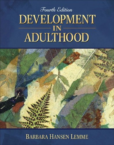 Development in Adulthood  4th 2006 (Revised) edition cover