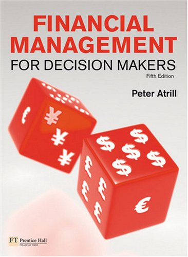Financial Management for Decision Makers  5th 2009 9780273717645 Front Cover