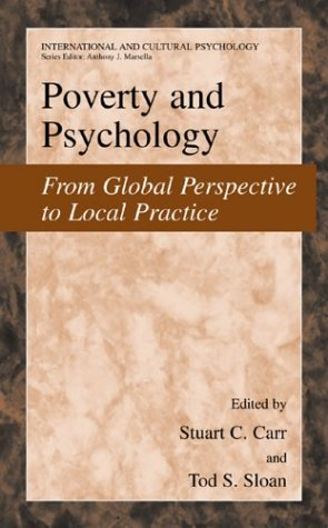 Poverty and Psychology From Global Perspective to Local Practice  2003 9780306477645 Front Cover