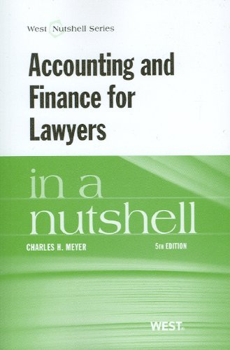 Accounting and Finance for Lawyers  5th 2013 (Revised) edition cover