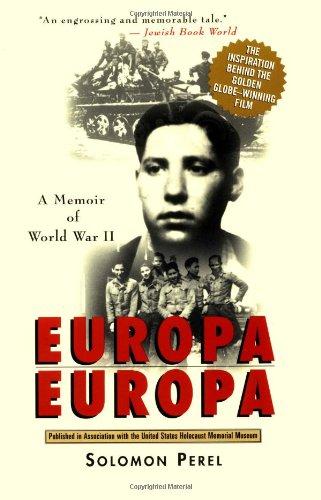Europa, Europa   1997 edition cover