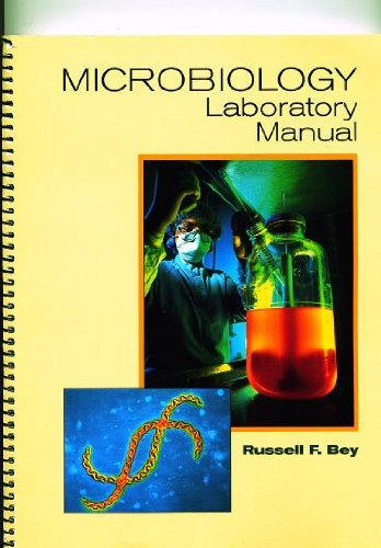 Microbiology   2001 (Lab Manual) 9780534375645 Front Cover