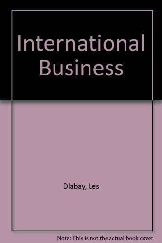 International Business 3rd 2006 9780538728645 Front Cover