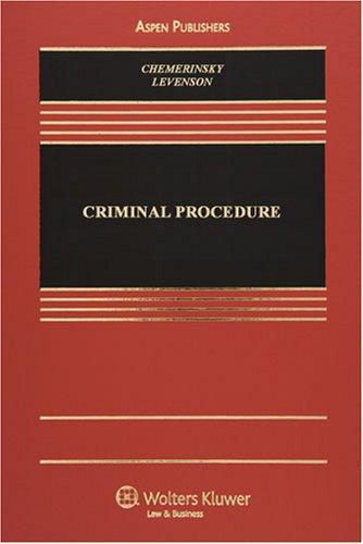 Criminal Procedure   2008 9780735569645 Front Cover