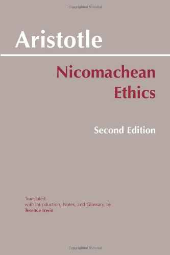 Nicomachean Ethics  2nd 1999 (Revised) 9780872204645 Front Cover