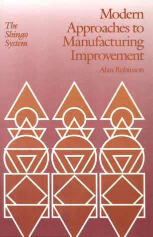 Modern Approaches to Manufacturing Improvement The Shingo System  1990 edition cover