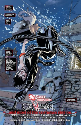 Catwoman Vol. 1: the Game (the New 52)   2012 9781401234645 Front Cover