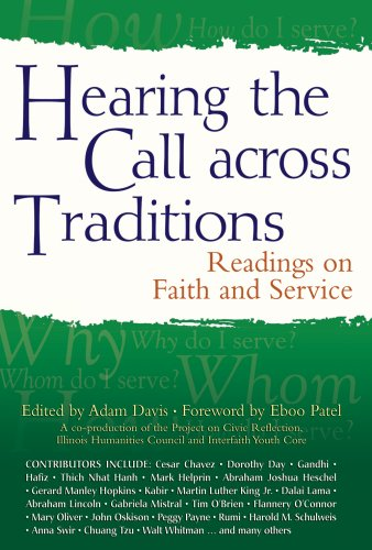 Hearing the Call Across Traditions Readings on Faith and Service  2009 edition cover