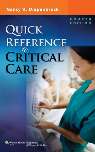 Quick Reference to Critical Care  4th 2011 (Revised) edition cover