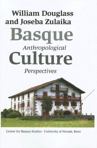 Basque Culture Anthropological Perspectives  2007 edition cover