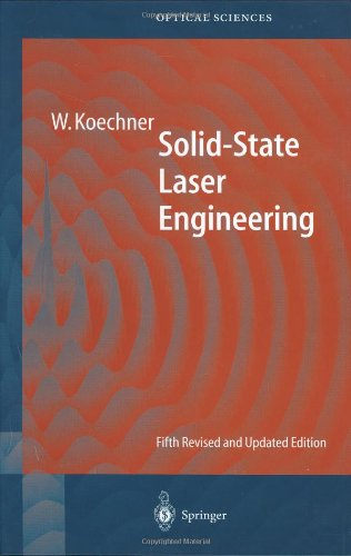 Solid-State Laser Engineering  5th 1999 (Revised) edition cover