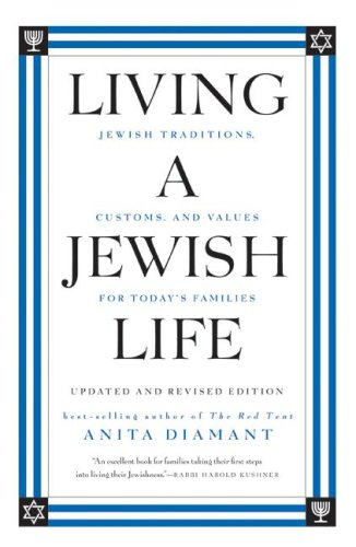 Living a Jewish Life Jewish Traditions, Customs, and Values for Today's Families Revised edition cover