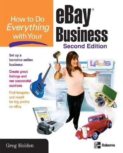 How to Do Everything with Your EBay Business, Second Edition  2nd 2005 (Revised) 9780072261646 Front Cover