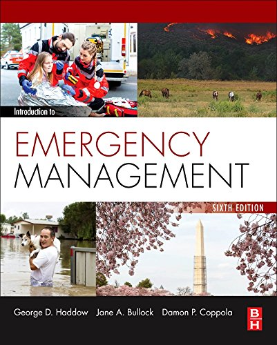 Introduction to Emergency Management  6th 2017 9780128030646 Front Cover