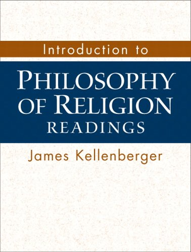 Introduction to Philosophy of Religion Readings  2007 edition cover