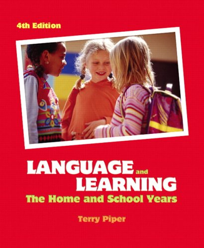 Language and Learning The Home and School Years 4th 2007 (Revised) edition cover