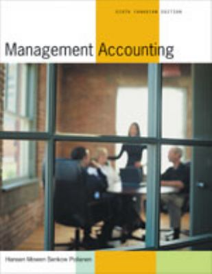 MANAGEMENT ACCOUNTING >CANADIA 6th 2004 edition cover