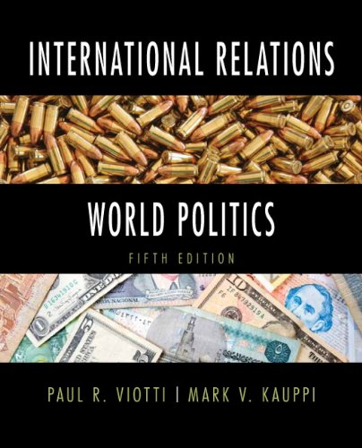 International Relations and World Politics  5th 2013 (Revised) edition cover