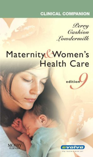 Maternity and Women's Health Care  9th 2007 edition cover