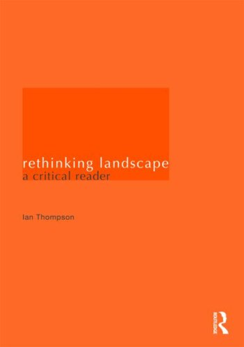 Rethinking Landscape A Critical Reader  2009 edition cover