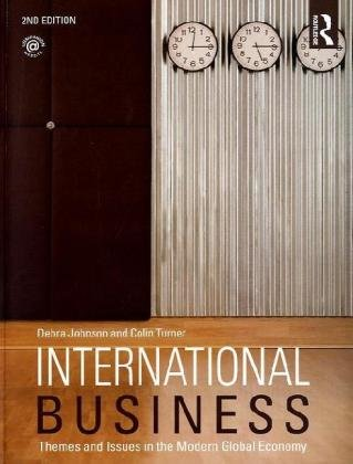 International Business Themes and Issues in the Modern Global Economy 2nd 2010 (Revised) edition cover