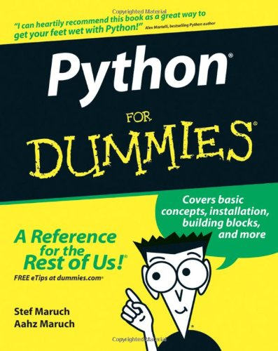 Python for Dummies   2006 edition cover