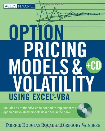 Option Pricing Models and Volatility Using Excel-VBA   2007 9780471794646 Front Cover