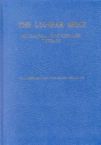 Lumbar Spine Mechanical Diagnosis and Therapy:  1st 1989 edition cover