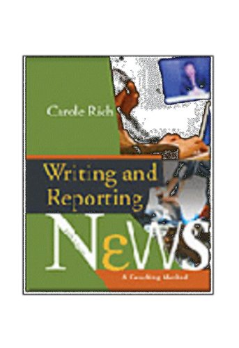 WRITING+REPORTING NEWS-STUD.WK 5th 2007 9780495129646 Front Cover