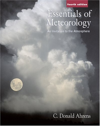 Meteorology  4th 2005 edition cover