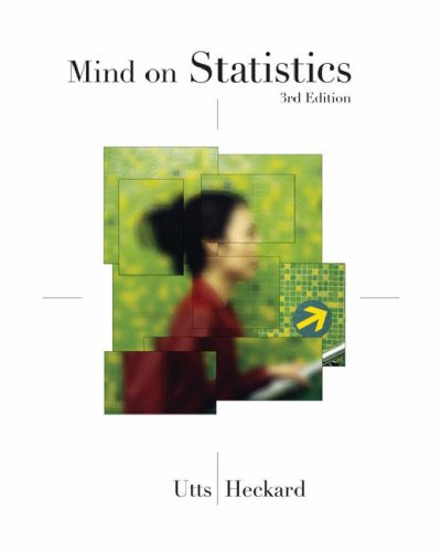 Mind on Statistics  3rd 2007 edition cover