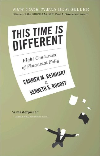 This Time Is Different Eight Centuries of Financial Folly  2011 9780691152646 Front Cover