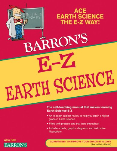 E-Z Earth Science  2nd 2010 (Revised) edition cover