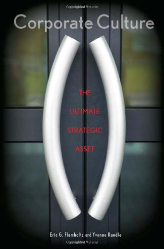 Corporate Culture The Ultimate Strategic Asset  2011 edition cover