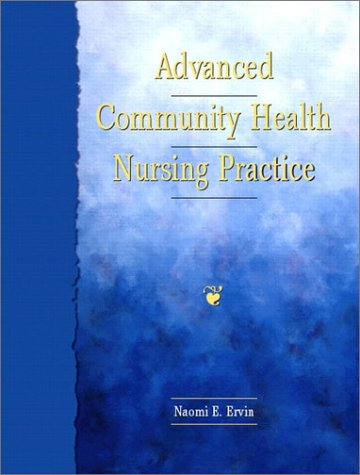Advanced Community Health Nursing Practice   2002 edition cover