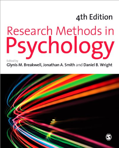 Research Methods in Psychology  4th 2012 edition cover